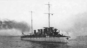 "Destroyer ""Zhivoy"" of the White Russian Fleet (and Ribetz from the Russian Imperial Navy) 1906-1920"