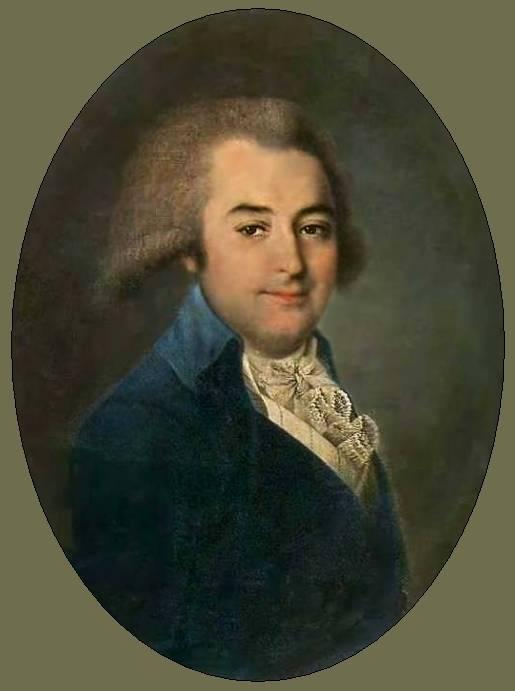 Gregory Petrovitch Miloradovitch (1795) By V. Argunov