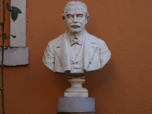 Bust in the Garden of the old Palazzo Kotchoubey of Prince Sergei Viktorovitch Kotschoubey