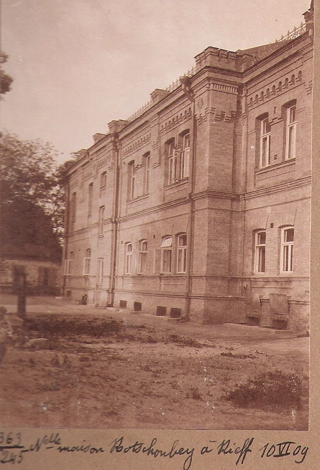 Kotschoubey Mansion, Kiev 1909 (Henri Schutz family Collection)