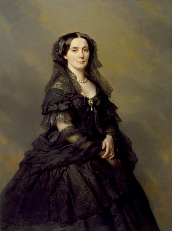 Princess Elena Pavlovna Kotschoubey (née Bibikova) by Winterhalter