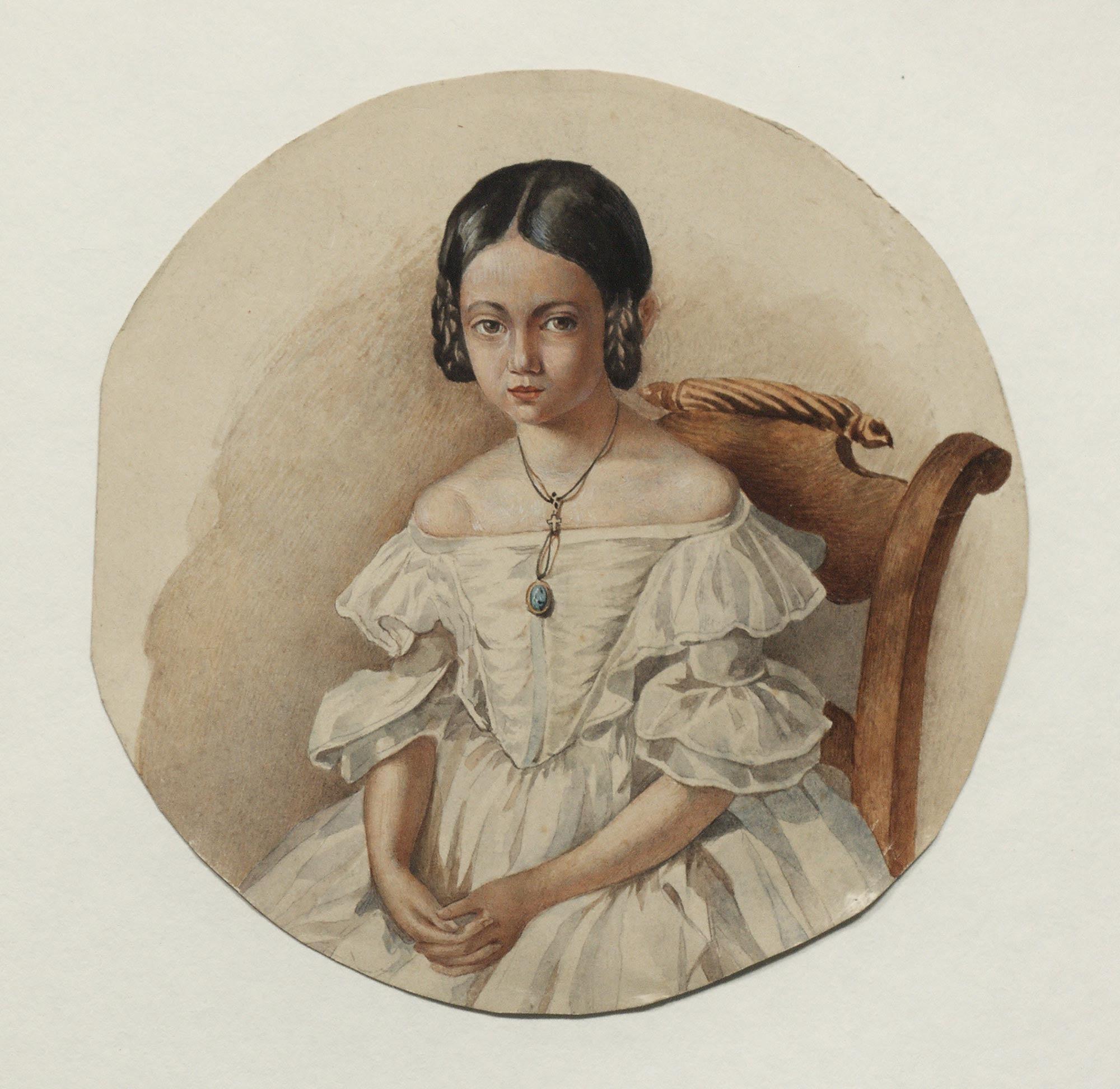 elena Sergeivna Volkonsaya youth
