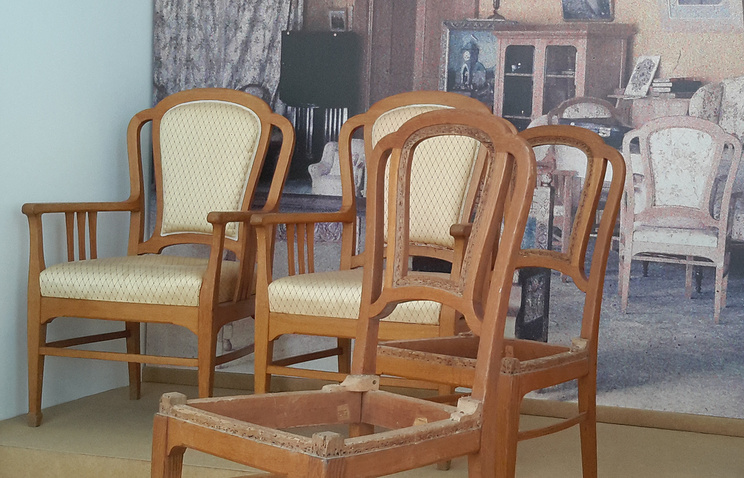 chairs in Kotchoubey museum